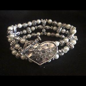 Premier Designs  Count It All Joy Bracelet.